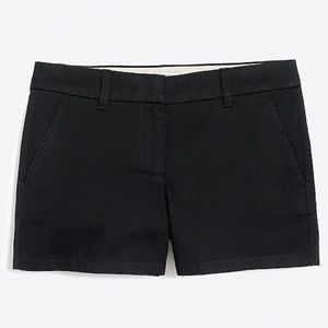 🌷J. Crew Black Cotton Chino 3 1/2 Short 🌷